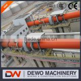 2.5x45m Rotary Kiln with Preheater Used in Cement Production Project