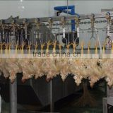 China sell good quality poultry farm used chicken slaughtering equipment/broiler slaughter line 008618052092685