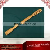 Japanese bamboo back scratcher for massage with two massage balls