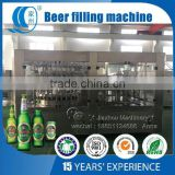 750ml Glass Bottle Filling Machine for Beer Capacity 2000 bottles per hour