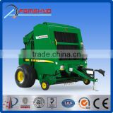FXM hot sale factory made CE certified quality PTO drive farm machinery mini round hay baler for hay grass straw silage alfalfa