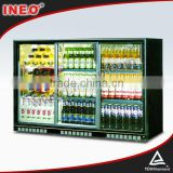 303L Sliding Glass Door Back Bar Fridge/Beer Bottle Fridge/Bar Fridge With Glass Door