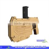 Factory price wood AR 15 GUN, Lcose RGKNSE Bluetooth AR GUN