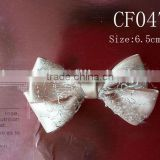 CF0475 New design fancy small grosgrain hair bow for baby