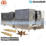 Automatic Ice Cream Sugar Cone Production Line|Rolled Sugar Cone Baking Machine