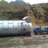 project construction used culvert pipe, corrugated culvert steel pipe, half circle corrugated steel culvert