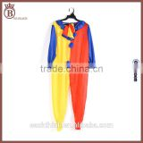 Childrens Day Street Show Carnival Party Fancy Conjoined Clown Costume