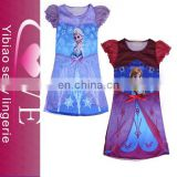 In stock/OEM girls skirt elsa anna dress