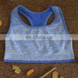 Ladies sports bra tops Seamless fitness yoga wear Custom