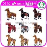 HI outdoor playground mechanical walking large toy horse for sale
