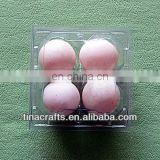 4 pcs Egg Plastic blister tray