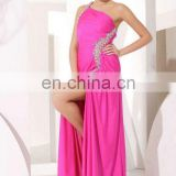 Korean Style Prom Dress Evening Dress Fashion 2012 Arab Free Shipping