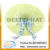 2014 ladies cheap straw hats,floppy beach straw hats,straw beach hats