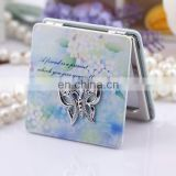 HOT SALE DELICATE BUTTERFLY SQUARE WOMEN COSMETIC MIRRORS