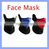 Red/Blue/Black Half V-shape Face Mask for Winter Skiing Climbing
