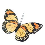 Colored artificial butterfly for wedding centerpieces
