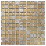 Glossy Crystal Mosaic Hot Melt Glass Tile