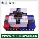 custom high quanlity handmade watch paper box packaging / decorative paper box packaging