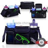 Stroller Organizer with Bonus Shoulder Strap Baby Diaper Bag Baby Accessory Bag Baby Shower Gift                                                                                                         Supplier's Choice