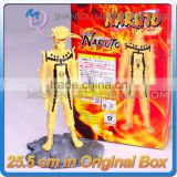 MINI QUTE 25 cm naruto nine-tailed fox model Japanese anime action figures dolls brinquedos boys NO.MQ 098