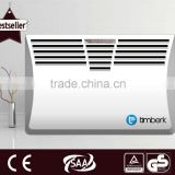 Wall mounted heat wave convector heater for living room