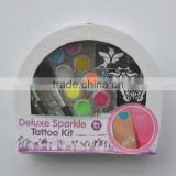 glitter tattoo kit, High Quality glitter for tattoo kit decoration, Colored glitter tattoo kit