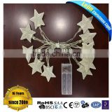 Star Shaped Battery Powered String Light for Home Decoration
