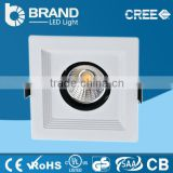 36w Classical design low price square cob led downlight dimmable led downlight led recessed mounted downlight aluminum AC85/265