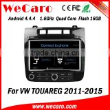 Wecaro WC-VT8009 Android 4.4.4 car multimedia system in dash for vw touareg android car dvd android bluetooth 2011-2015