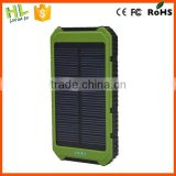 10000mah dual usb portable solar automatic mobile charger
