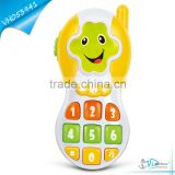 Smile Face Cartoon Mini Baby Phone Toy