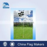 Custom printed decorative standing mini golf flags                                                                         Quality Choice