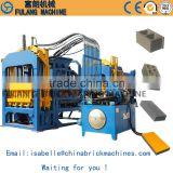 QT4-15 series machines for making various of building cement porous hollow and paving block new style environmental brick makin