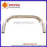 High Quality Metal Alloy Aluminum Tube Bending, then Anodized, Tampon Print and Punching for Spare Part, Handle, etc.