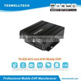 Teswell 4ch 3G GPS WIFI G-sensor AHD mdvr for taxi, school bus mobile dvr for vehicle black box