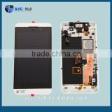 touch screen lcd assembly with frame for Blackberry London/Surfboard/L-Series/L10/ Z10 black
