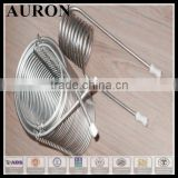Auron/Heatwell ASTM TP304 seamless stainless steel coil pipe with high precision