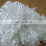 Wool/Acrylic blened feather fancy yarn for knitting scarf