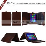 hot selling keyboard pu leather case for asus transformer book t100 chi 10.1'' tablet