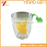 Eco-friendly Food Grade Safe Silicone Tea Bag Silicone Tea Infuser /New Design Gourd shaped                                                                         Quality Choice