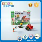 Factory wholesale hot educational DIY ABS plastic kids building block toys                                                                                                         Supplier's Choice