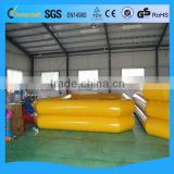 Attractive kids inflatable pool fishing game
