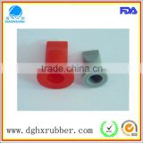 Red tasteless red silicone valve for plastic bottle