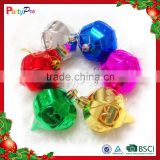 Partypro 2015 Wholesale Christmas Decorations Colorful Balls Lighted Christmas Hanging Balls Decoration