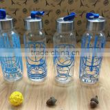 high quality glass water bottle Eco-Friendly Feature and Glass Drinkware Type beverage bottle