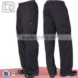 Wholesale Mens Black Baggy Lightweight Chef Pants,Chef Uniform
