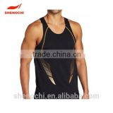 Comfotable polyester cheap sport clothes men's sport vest