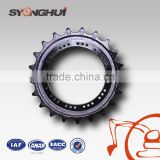 high quality excavator sprocket track drive wheel Robust Sprocket Undercarriage drive roller crawler crane sprockets E200B