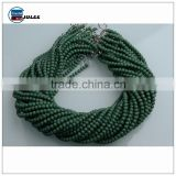 Fantasy jewelry accessory round beads with hole custom design glass beads