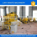 WANTE BRAND WT2-10 soil interlocking brick machine/compressed earth blocks machines/clay brick